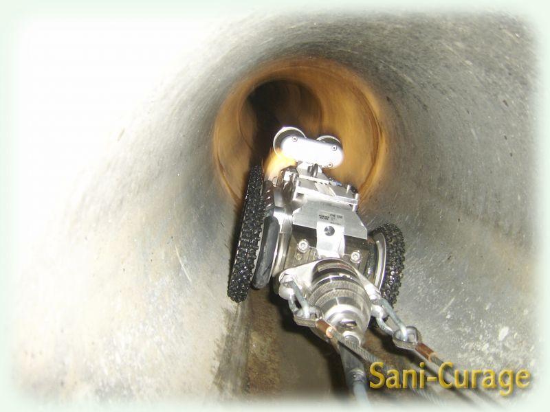 Robot d 39 inspection t l vis e des canalisations - Remontee d odeur des canalisations ...